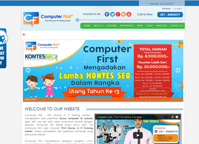 Kontes SEO Computer First